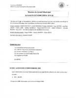 Compte rendu 05.10.2020