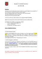 Règlement de la garderie municipale saison 2021